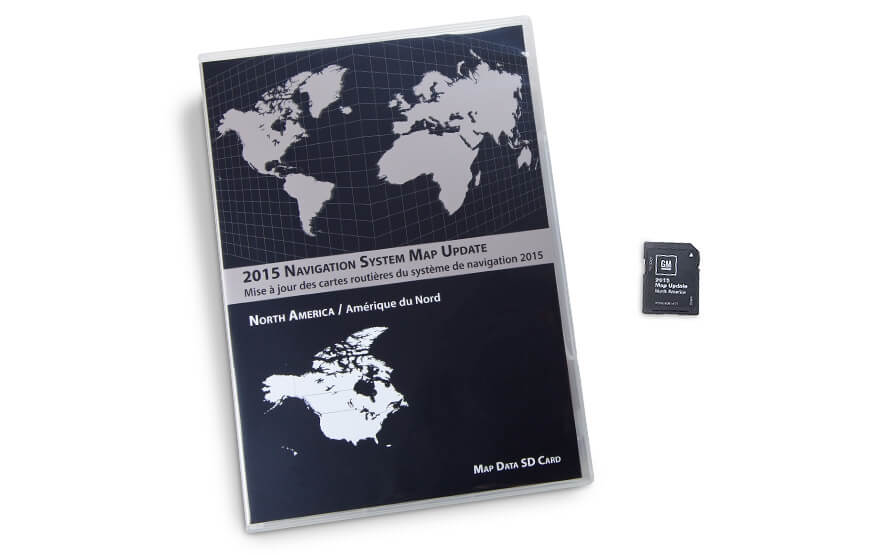 GM - North America Map Update - Entry Nav - V.2016 product photo
